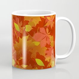 Autumn Leaves Carpet Coffee Mug