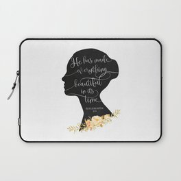 He has Made Everything Beautiful Laptop Sleeve