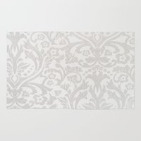 victorian Area & Throw Rugs featuring Victorian by Pink Berry Patterns