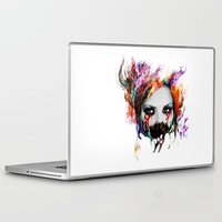 harley Laptop & iPad Skins featuring Harley Q by ururuty