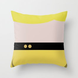 Tasha Yar - Minimalist Star Trek TNG The Next Generation  Lieutenant startrek Trektangles Throw Pillow