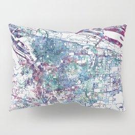 Portland map Pillow Sham