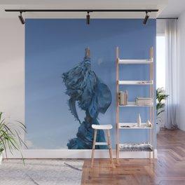 Sacred Blue Wall Mural