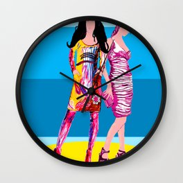 Catwalk Wall Clock