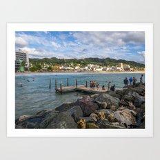 Aguadilla coast 8 Art Print