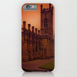 WW2 Bombed out Church iPhone Case