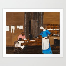 Supper Time by Horace Pippin Art Print