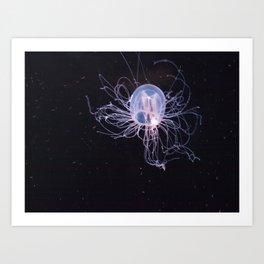Bioluminescent Purity Art Print