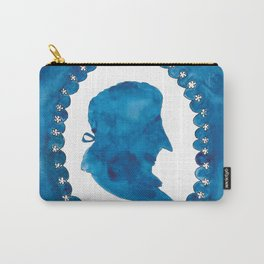 The Blue and the White Carry-All Pouch