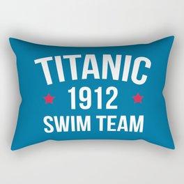 Swim Team Funny Quote Rectangular Pillow