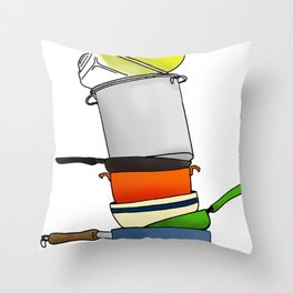 ...or Why I Don't Cook Throw Pillow