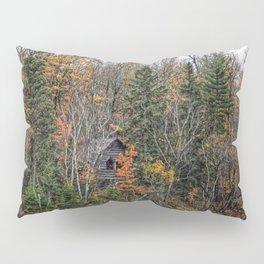 Historical Log Cabin Pillow Sham