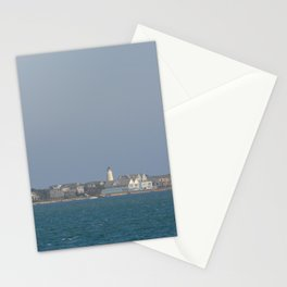Ocracoke Island from the ferry Stationery Cards