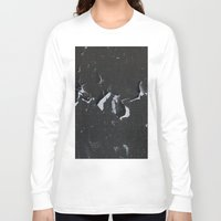 cracked Long Sleeve T-shirts featuring cracked by Grigoriy Pil