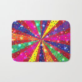 Colorful light Bath Mat