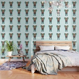 BOHO SUMMER ELEPHANT Wallpaper