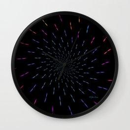Simultaneous Rotations Wall Clock