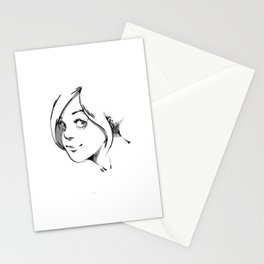 SMILE AT ME. Stationery Cards