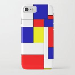 Mondrian #38 iPhone Case