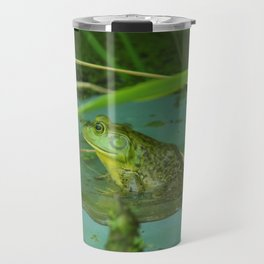 Frog Photography Print Travel Mug