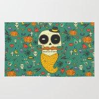 halloween Area & Throw Rugs featuring Halloween by ari-s
