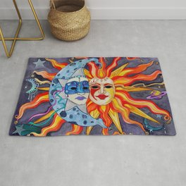 Celestial Comedy and Tragedy Rug