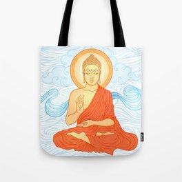 Meditating Buddha Tote Bag
