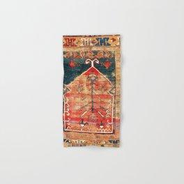Konya Central Anatolian Niche Rug Print Hand & Bath Towel