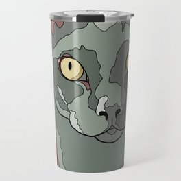 The Curious Cat Travel Mug