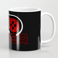 gamer Mugs featuring Red Gamer by UMe Images