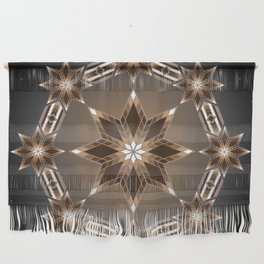 Morning Star Circle (Brown) Wall Hanging