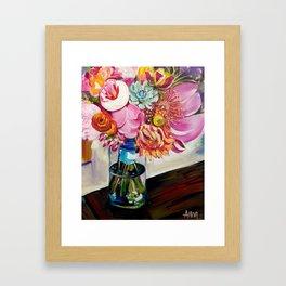 Everlasting Bouquet Framed Art Print