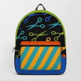 Rainbow Scissors Backpack