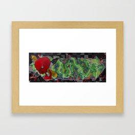 skullzmarkerzpencilz Framed Art Print