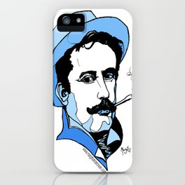 Giacomo Puccini Italian Composer iPhone Case