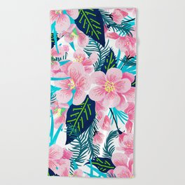 Floral Gift Beach Towel