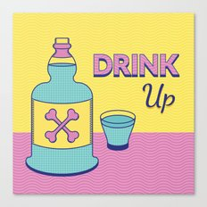 Drink Up Canvas Print