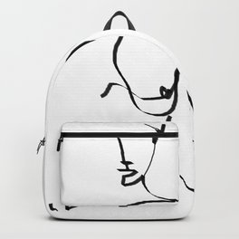 abstract nude Backpack