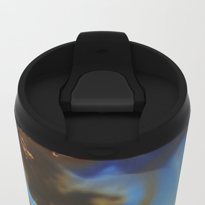 Iced Agate Metal Travel Mug