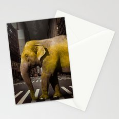 Elephant in New York Stationery Cards