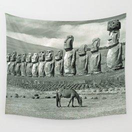 EASTER ISLAND VISTA Wall Tapestry