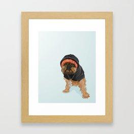 Gangster Digby Framed Art Print