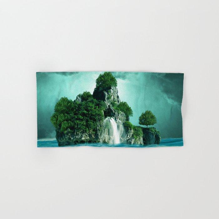 Green island 4 Hand & Bath Towel