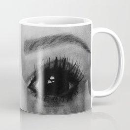 Black and White Eyes Coffee Mug