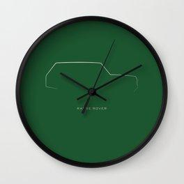 singularly cool classics .. range rover Wall Clock