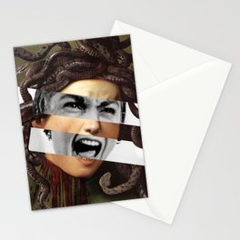 Caravaggio's Medusa & Vivien Leigh in Psycho Stationery Cards