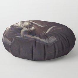 The Fallen Angel Floor Pillow