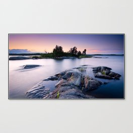 August Evening Canvas Print