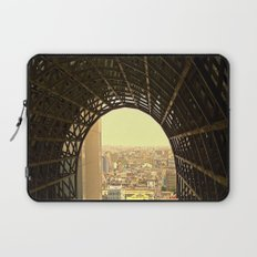 Peering out from Kyoto Station Laptop Sleeve