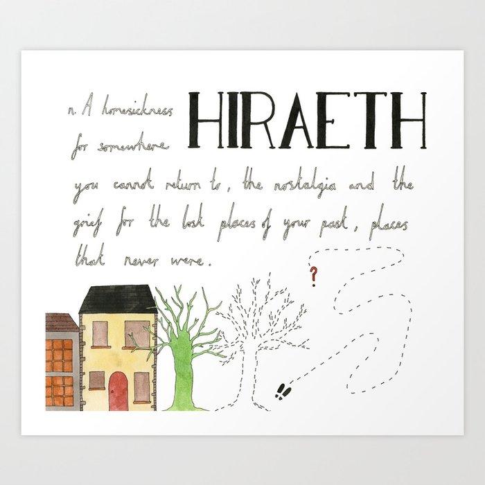Hiraeth Art Print
